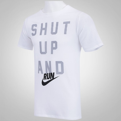 Camiseta Nike Shut Up And Run - Masculina