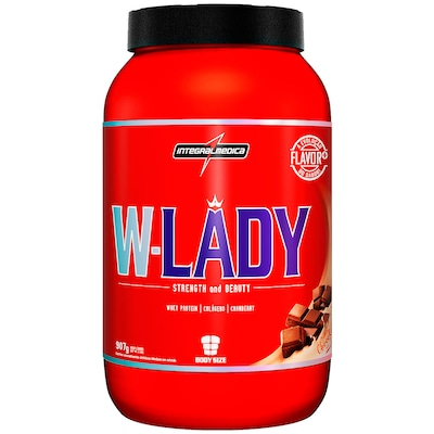 Whey Protein Integralmédica W-Lady - Chocolate - 907g
