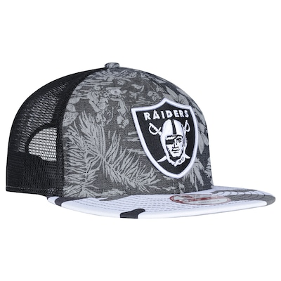 Boné Aba Reta New Era Oakland Raiders - Snapback - Trucker - Adulto