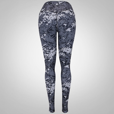 Calça Legging Estampada com Bolso Nike Legend Poly Tight Drift - Feminina
