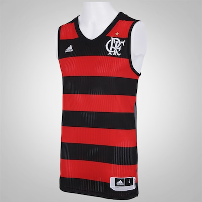Camiseta Regata do Flamengo I adidas - Masculina