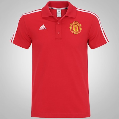 Camisa Polo do Manchester United 16 adidas - Masculina