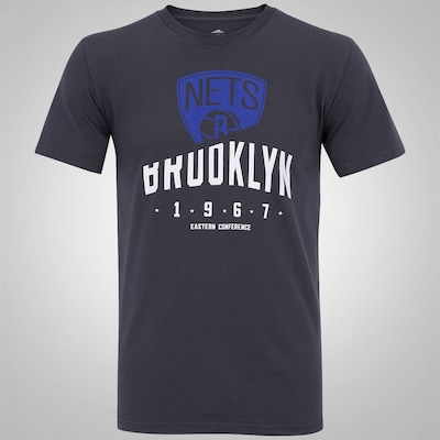 Camiseta adidas Logo Clubs Brooklyn Nets NBA - Masculina