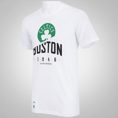 Camiseta adidas Basic Clubs NBA Boston Celtics - Masculina