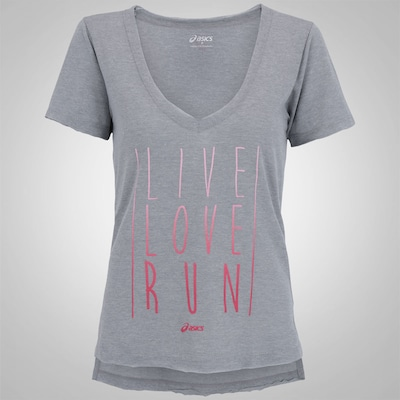 Camiseta Asics Live Love Run SS - Feminina