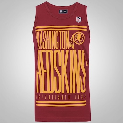 Camiseta Regata New Era Washington Redskins - Masculina