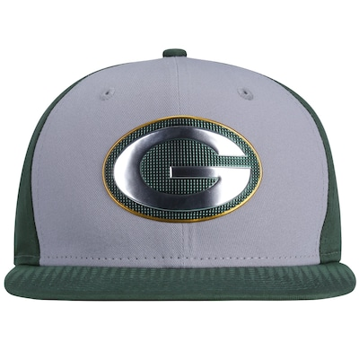 Boné Aba Reta New Era Green Bay Packers Draft Colle - Snapback - Adulto