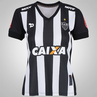 Camisa do Atlético-MG I nº 10 2016 Dryworld - Feminina