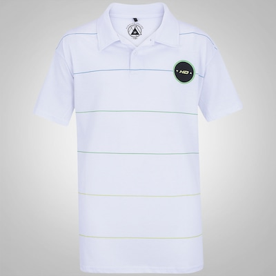 Camisa Polo HD Estampa 1756 - Plus Size - Masculina