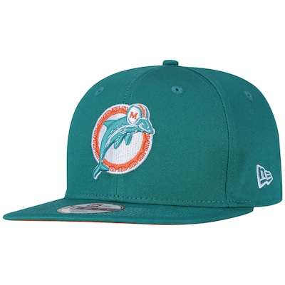 Boné Aba Reta New Era Miami Dolphins NFL Original Fit - Snapback - Adulto