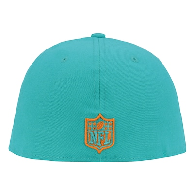 Boné Aba Reta New Era 59FIFTY Miami Dolphins NFL Draft - Fechado - Adulto