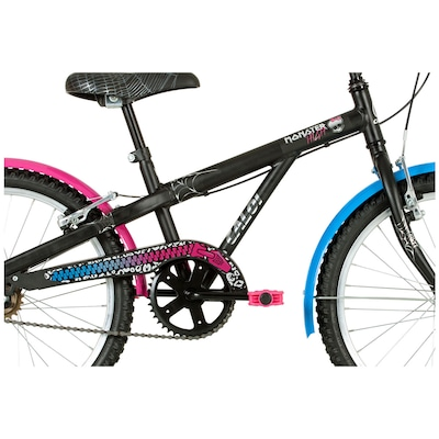 Bicicleta Caloi Monster High 20 2016 - Aro 20 - Freio V-Brake - Feminina