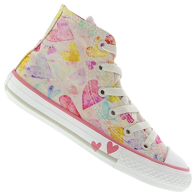 Tênis Converse All Star CT AS Hearts HI - Infantil