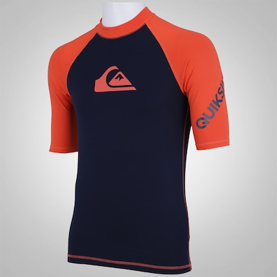 Camisa Quiksilver All Time SS - Maculina