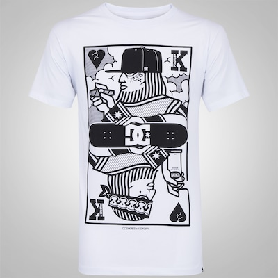 Camiseta DC Shoes Bas 123 King Card - Masculina
