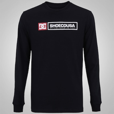 Camiseta Manga Longa DC Shoes Basic Relic - Masculina