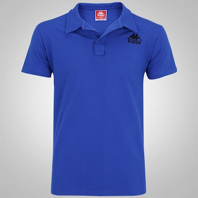 Camisa Polo de Algodão Kappa Authentic Raise - Masculina