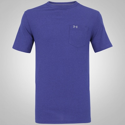 Camiseta Under Armour Tri-Blend Pocket - Masculina