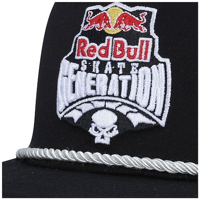 Boné Aba Reta New Era 9FIFTY Red Bull Skate Generation Corda - Snapback - Adulto