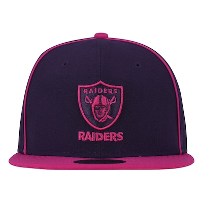 Boné Aba Reta New Era Oakland Raiders NFL - Fechado - Adulto
