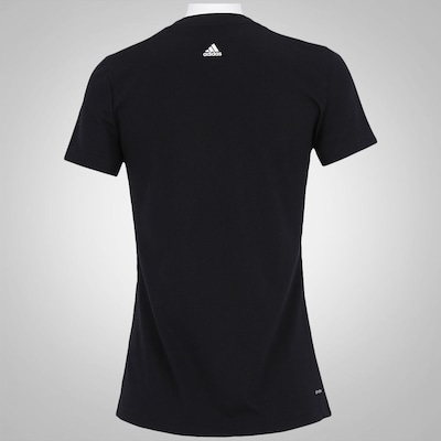 Camiseta adidas Essentials Linear SS16  - Feminina