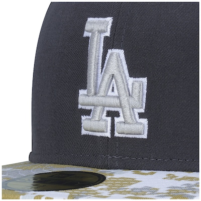 Boné Aba Reta New Era 59FIFTY Los Angeles Dodgers MLB - Fechado - Adulto