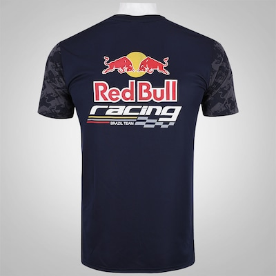 Camiseta Red Bull Racing SC Brazil Team Funcional - Masculina