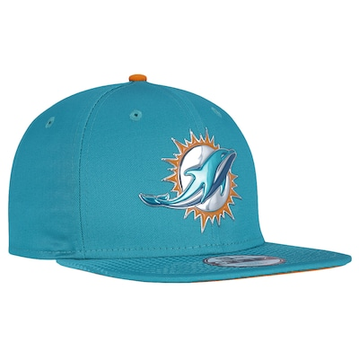 Boné Aba Reta New Era Miami Dolphins Draft NFL Team - Snapback - Adulto