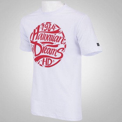 Camiseta HD Hawaiian Dreams Type - Masculina