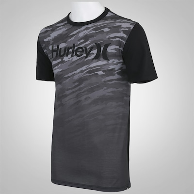 Camiseta Hurley One & Only Camo - Masculina