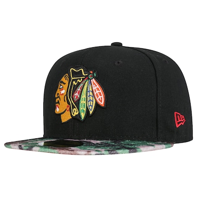 Boné Aba Reta New Era 59FIFTY Chicago Blackhawks NHL - Fechado - Adulto