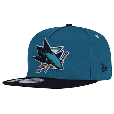 Boné Aba Reta New Era 9FIFTY San Jose Sharks NHL Tournover - Snapback - Adulto