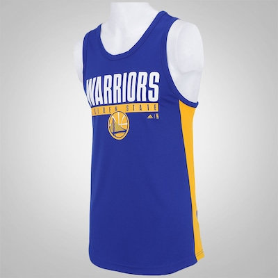 Camiseta Regata adidas Golden State Warriors NBA MAC - Masculina