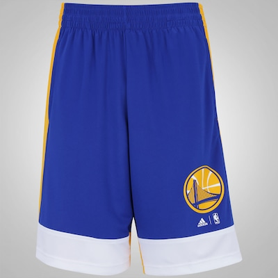 Bermuda adidas Golden State Warriors NBA - Masculina
