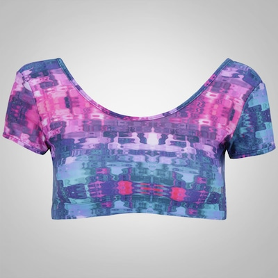 Blusa Cropped Power Fit Cristal - Feminina
