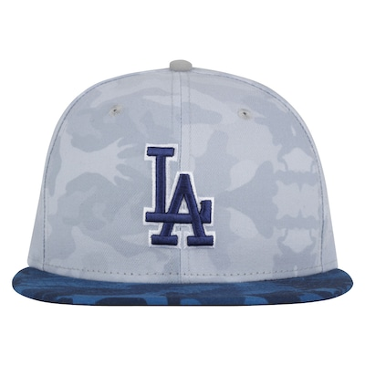 Boné Aba Reta New Era Los Angeles Dodgers Camuflado - Fechado - Adulto