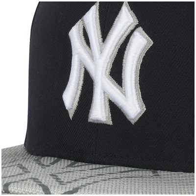 Boné Aba Reta New Era New York Yankees Double - Fechado - Adulto