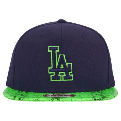 Boné Aba Reta New Era Los Angeles Dodgers Reptilevize - Strapback - Adulto