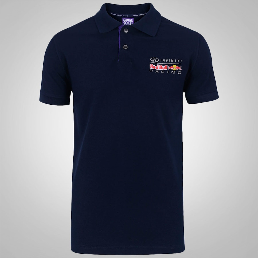 camisa polo red bull racing color masculina. Black Bedroom Furniture Sets. Home Design Ideas