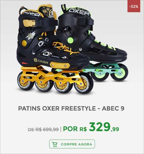 Patins Oxer Freestyle - ABEC 9