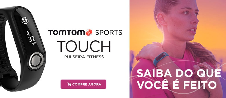 Pulseira Inteligente Fitness Tomtom Touch Cardio Large