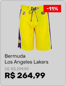 Bermuda-Los-Angeles-Lakers-Mitchell---Ness-9126A---Masculina
