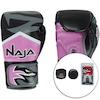 Kit de Boxe Naja: Bandagem + Protetor Bucal + Luvas de Boxe New Extreme - 12 OZ - Adulto
