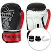 Kit de Boxe Pretorian: Bandagem + Protetor Bucal + Luvas de Boxe First - 16 OZ - Adulto