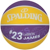 Bola de Basquete Spalding NBA Los Angeles Lakers Lebron James