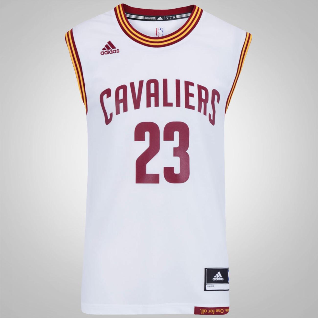 salir La ciudad Eficiente  Camiseta Regata adidas NBA Cleveland Cavaliers - Masculina - Centauro