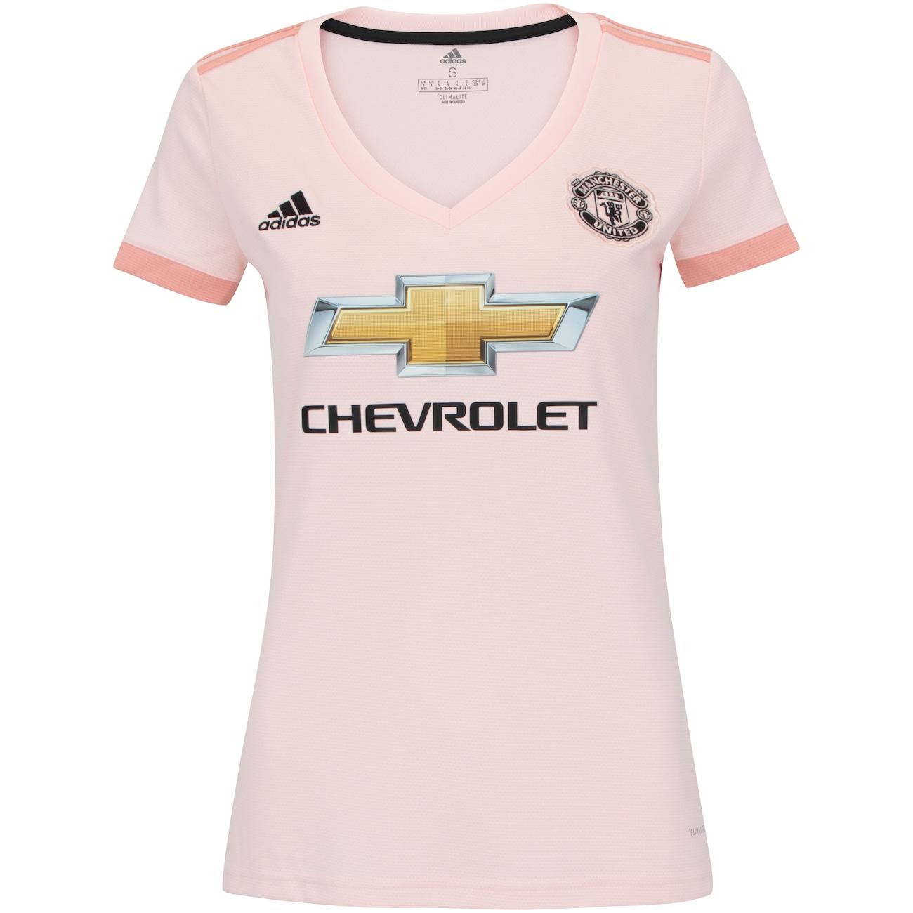 camisa manchester united ii 18 19 adidas feminina centauro camisa manchester united ii 18 19