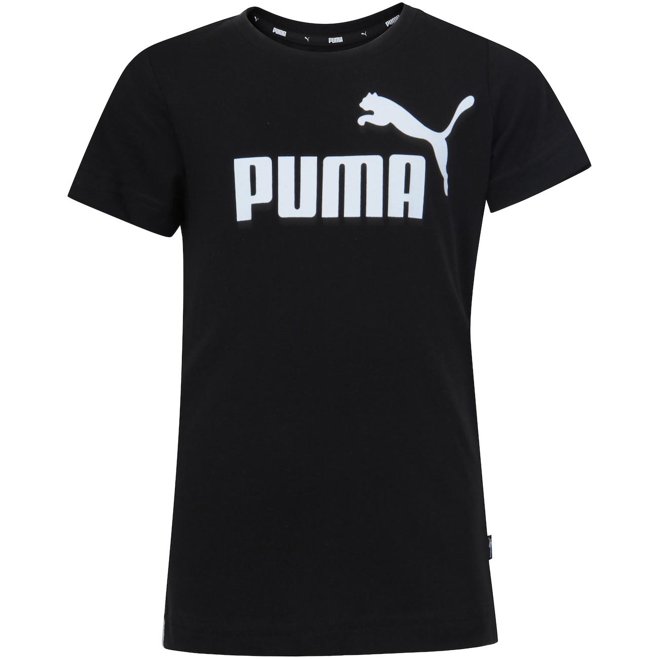 Desviación champú Rápido  Camiseta Puma Essentials Tee - Infantil - Centauro