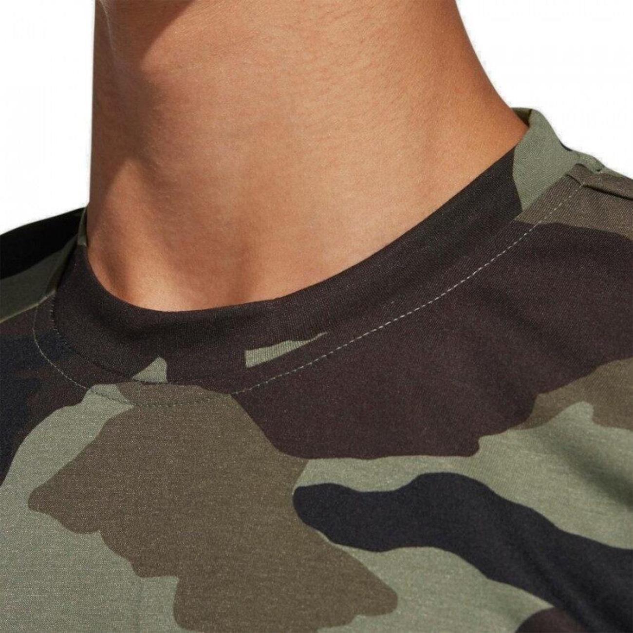 Parecer suficiente superficie  Camiseta adidas Malha Climb Camuflada Militar - Masculina - Centauro