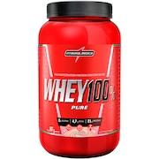 Whey Protein Integralmédica Super Whey 100% Pure - Morango - 907g